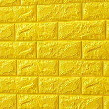 3D Brick Foam (Bright Yellow)