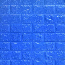 3D Brick Foam (Bright Blue)