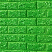 3D Brick Foam (Bright Green)