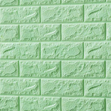 3D Brick Foam (Light Green)