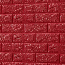 3D Brick Foam (Red)