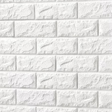 3D Brick Foam (White)