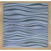 3D Wall Panel-Waves (Greyish Matt)